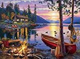 Buffalo Games Darrell Bush - Canoe Lake - 1000 Piece Jigsaw Puzzle