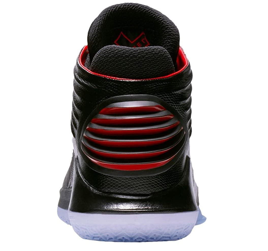 d4223147400b Jordan Air xxxii Bred Basketball Shoes Mens Black University Red New AA1253- 001 - 8.5  Buy Online at Low Prices in India - Amazon.in