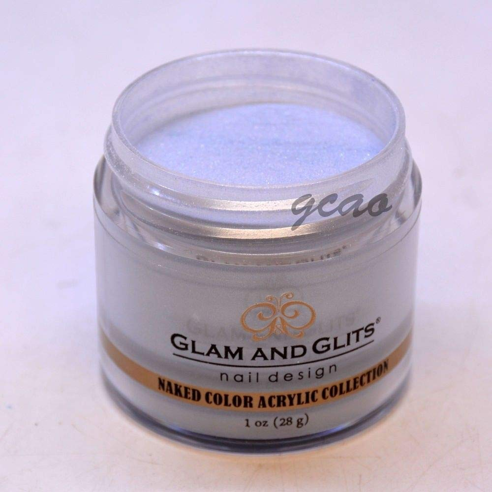 ACRYLIC POWDER COLOR -NAKED COLLECTION - 1oz/28g - (432 Make Wave) Glam and Glits