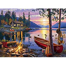 Buffalo Games Darrell Bush: Canoe Lake Jigsaw Puzzle (1000 Piece)