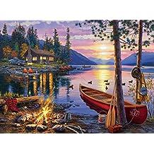 Buffalo Games Darrell Bush - Canoe Lake - 1000 Piece Jigsaw Puzzle