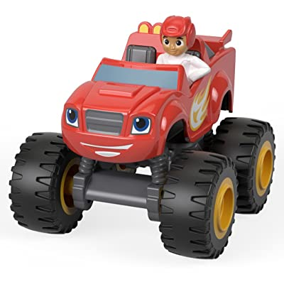 Fisher-Price Nickelodeon Blaze & the Monster Machines, Blaze & AJ: Toys & Games