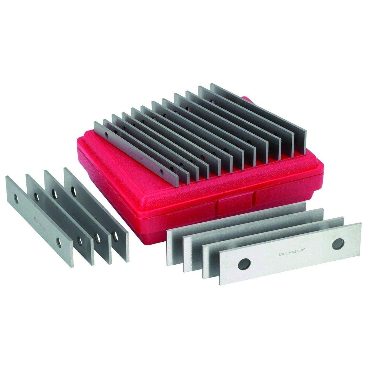 """1//32 40 Thin Parallel Jig Block Bar Tool Set 1//32 Set Precision Machinist Tools in Case Chiloskit 0.0001""""20 Pair 20pairs"""