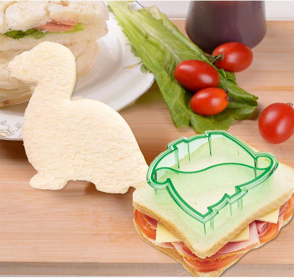 Ensemble de coupe-pain /à sandwich pour les enfants Moules /à bento Fournitures Emporte-pi/èce en forme de cro/ûte de fruits de l/égumes