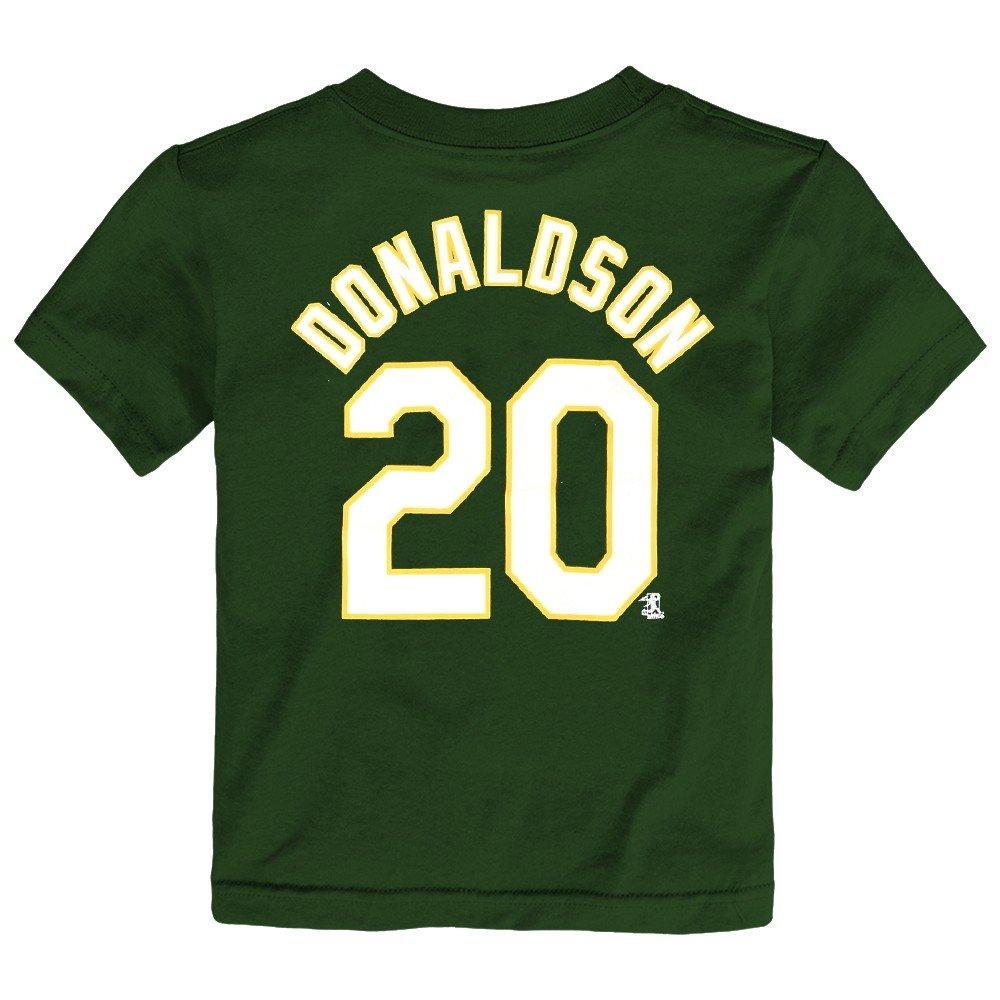 早割クーポン! ジョシュドナルドソンOakland Athletics MLBグリーンジャージーTシャツfor Athletics Toddler Toddler 4T 4T B07BLMB2SW, SmartStationスマートステーション:ac71496c --- senas.4x4.lt