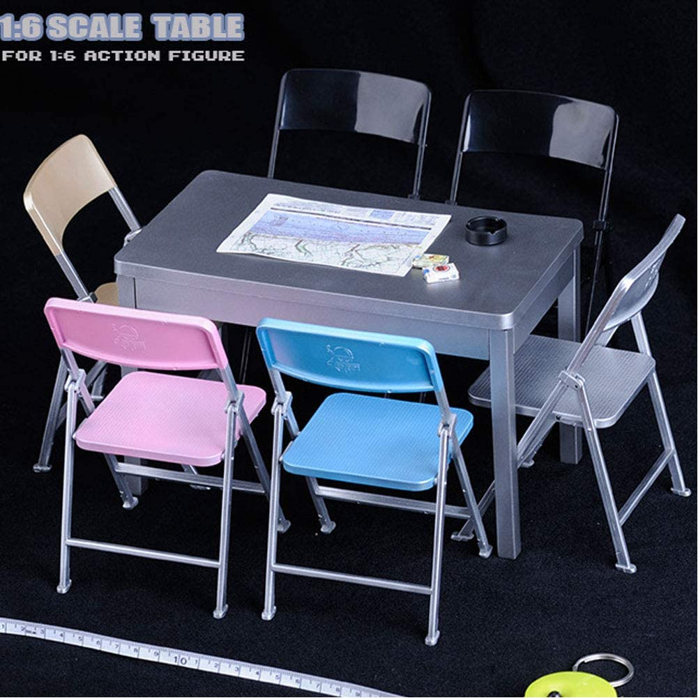 "FEELWOTOYS 1//6 European Dressing Desk Table FW004D Model F 12/"" Action Figure Toy"