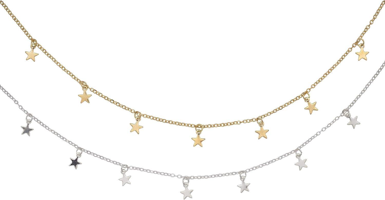 Star Charm Choker Silver Star Charm Choker Silver Choker Vsco Choker Silver Star Jewelry Star Jewelry Celestial Choker Star Choker
