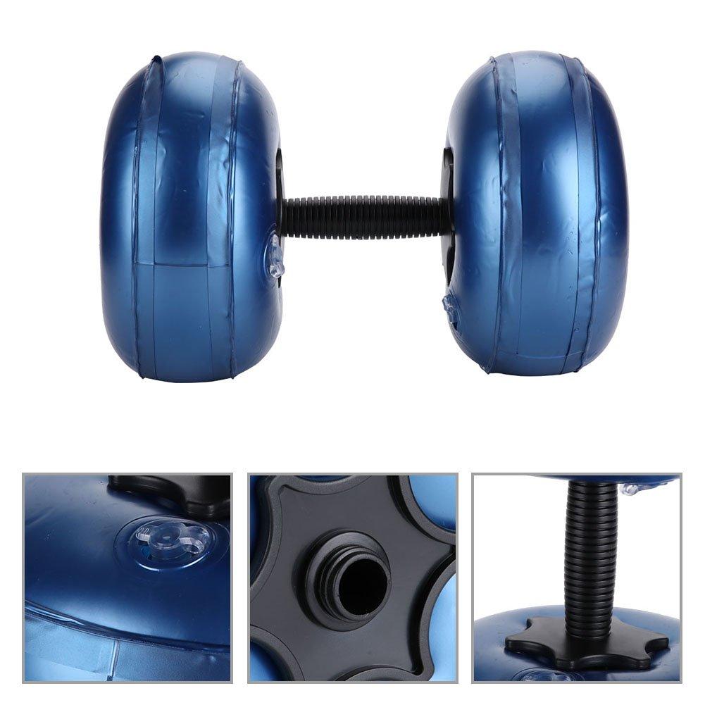 Alomejor Water Dumbbell Aerobics PVC Aquatic Barbell Set Peso Ejercicio De Entrenamiento Físico (8-10kg -Azul): Amazon.es: Deportes y aire libre