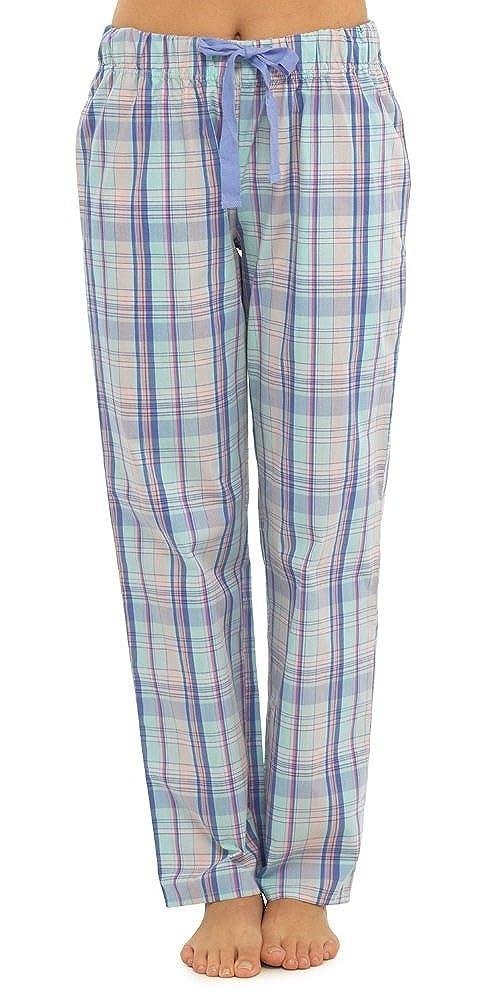 Freizeitkleidung Pyjama-Unterteil Damen-Freizeithose von Lora Dora Nachtw/äsche legerer Damen-Pyjama Gr/ö/ßen 36-46