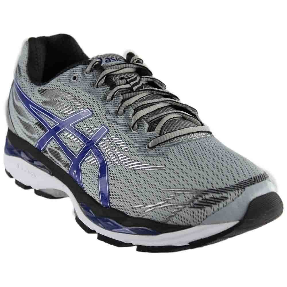 ASICS GelZiruss Shoe Men's Running B071GWS8H2 12 M US|Mid Grey/Blue/Black