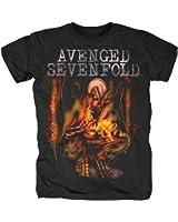 Avenged Sevenfold Herren Band T-Shirt - Fire Bat