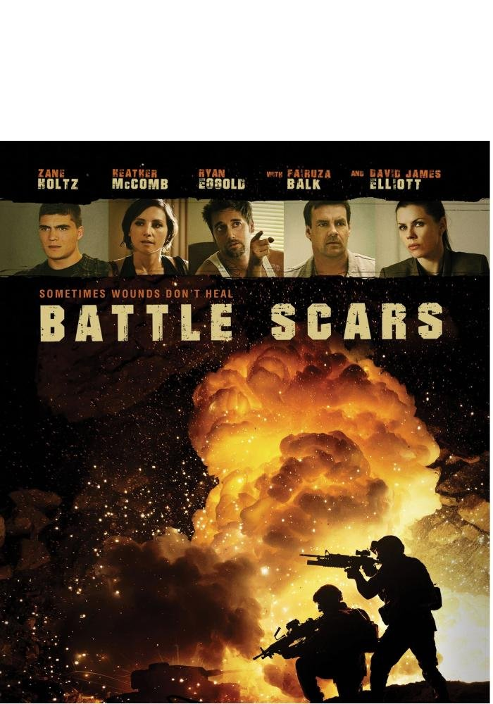 Blu-ray : Battle Scars (Widescreen)