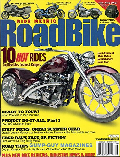 RoadBike Magazine August 2005 - Eyewear Museum