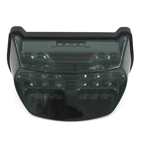Amazon.com: Motorcycle LED Turn Signal Tail Light Brake Stop ...