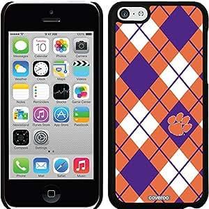 fashion case iphone 6 4.7 Black Thinshield Snap-On Case with Clemson Argyle Design
