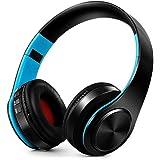 Bluetooth-Kopfhörer,  Stereo-Kopfhörer, kabellos, einklappbar, Sport-Kopfhörer,  SD-Karten-Slot,  mit Mikrofon, für PC oder Handy