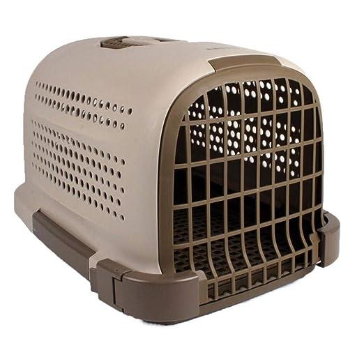 Caja de Mascotas portátil Jaula de plástico Perro de Gato ...