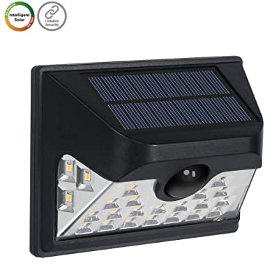Westinghouse Wireless Linkable Intelligent Solar Motion Sensor Lights Outdoor, 120° Wider Angle Illumination 26 LEDs 600 Lumens Security Wall Lights for Yard Fence Patio Driveway Garage Porch: Home Improvement
