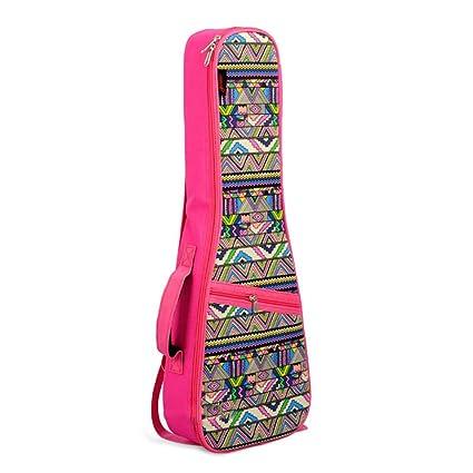 Estuche de Transporte de Guitarra Rosa Especialmente en el paquete Kerry Viento nacional Malestar Bolso bandolera