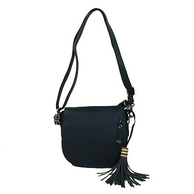 Esprit Wendy Saddlebag Blau Damen Handtasche Tasche Schultertasche  Umhängetasche Schulter Umhänge Taschen: Amazon.de: Bekleidung