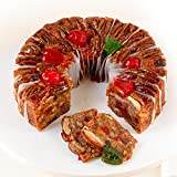 Sliced DeLuxe Fruitcake 1 lb. 14 oz. Collin Street Bakery