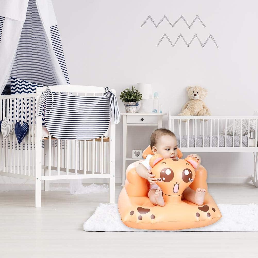 Envisioni Sof/á Inflable para beb/és Utilizado como beb/é para Aprender a Sentarse Hacer un Picnic ba/ñarse Asiento port/átil Alimentar el Taburete