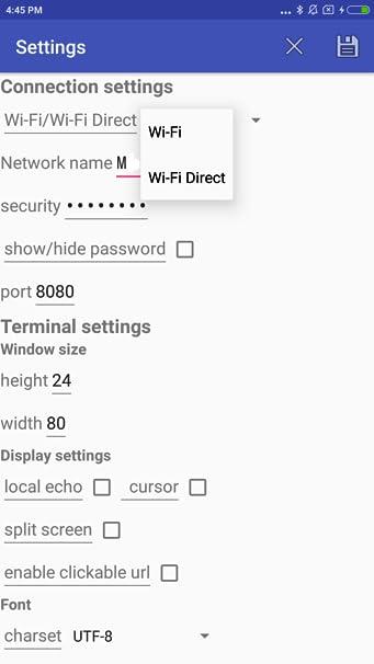 Amazon com: USB BT BLE Wi-Fi Direct P2P Color Terminal Modem