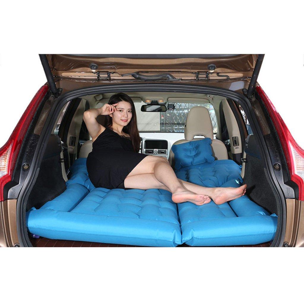 車のインフレータブルベッドエアベッドの車のベッドSUV独占 - ブルー(多色オプション) B07FMC7J2N Blue Blue