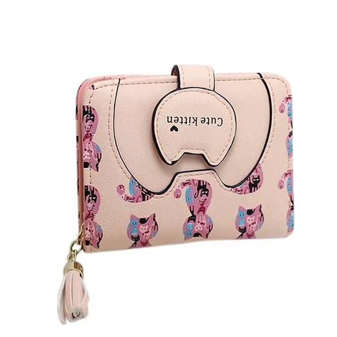 Etbotu - Cartera para mujer Niñas Rosa rosa: Amazon.es: Ropa y accesorios