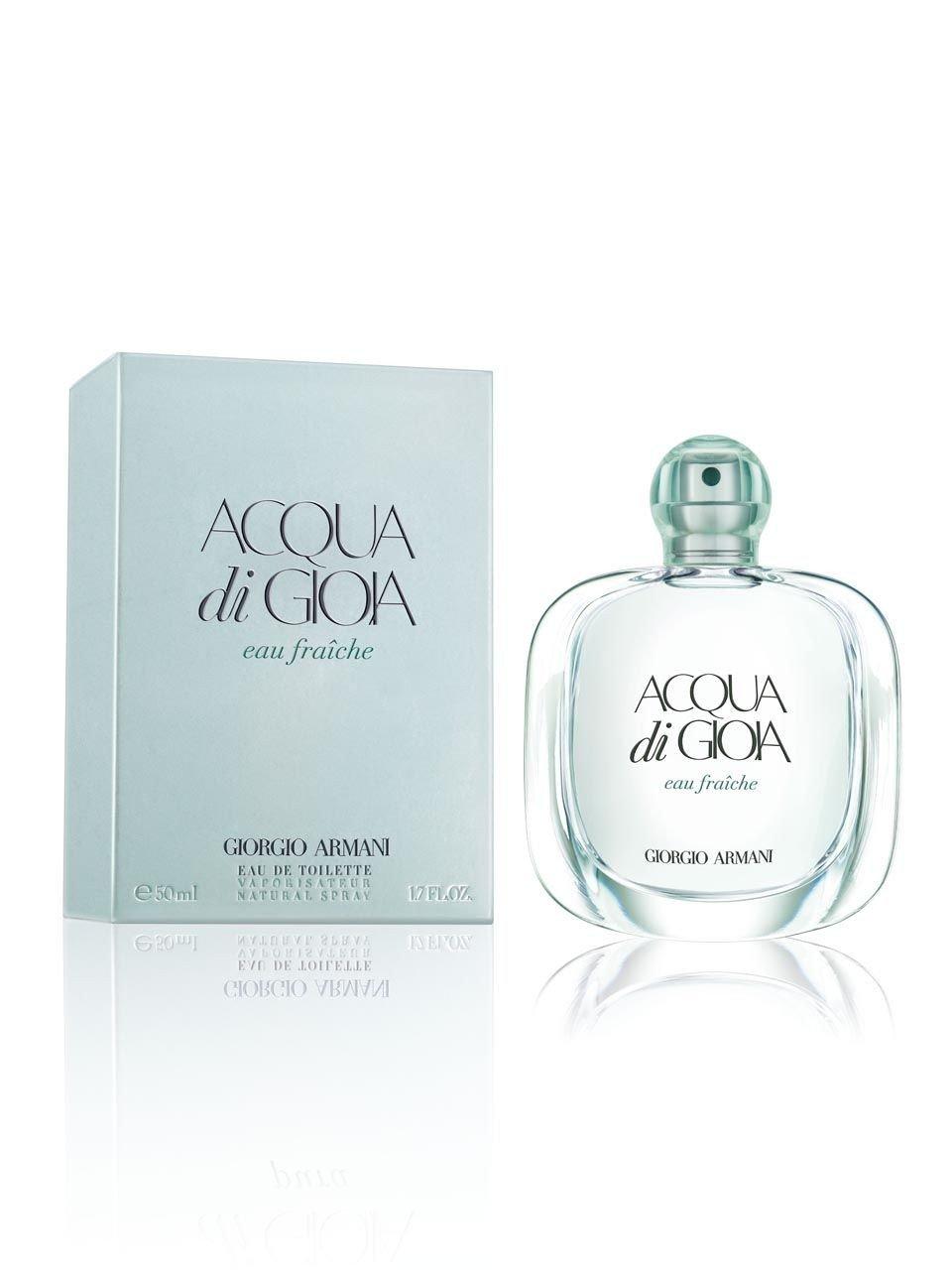 Giorgio Armani Aqua Di Gioia Eau Fraiche EDT Spray for Women, 1.7 Ounce, W-7470 3605521739483 55800_noaplica