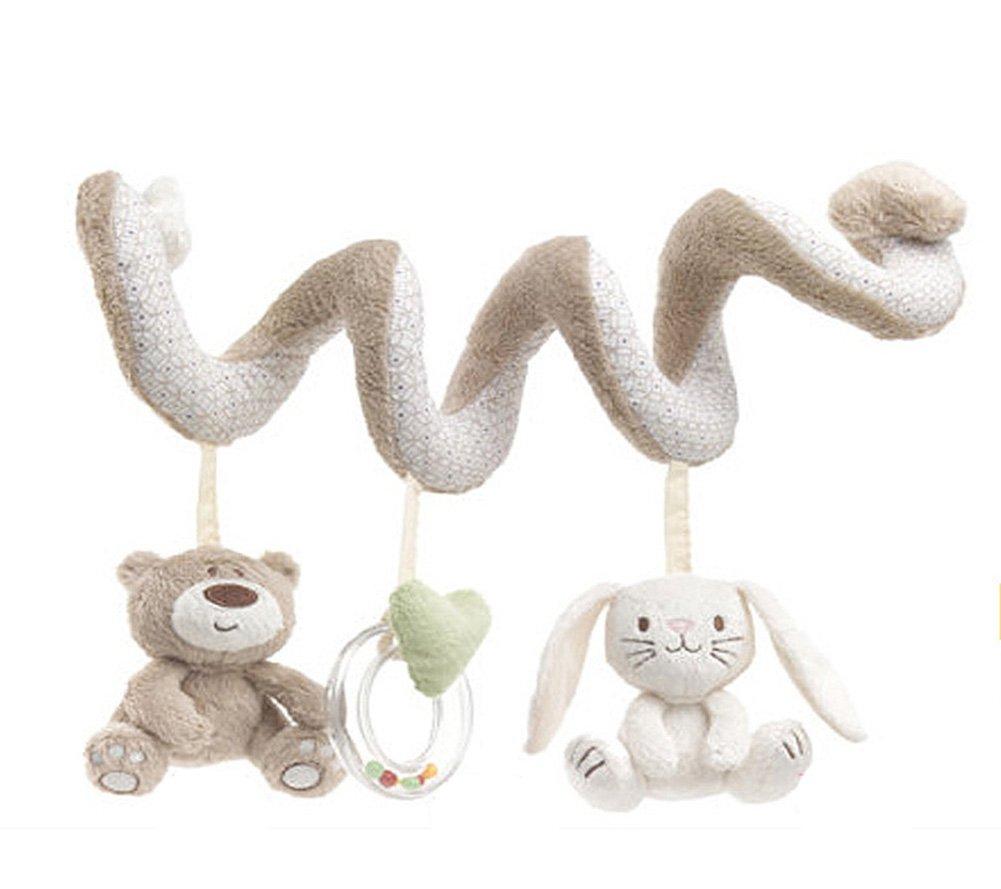 EinsAcc Bä r Hä ngende Sprach Musik Spielzeug Mobile Kaninchen Spielzeug fü r Baby CG008