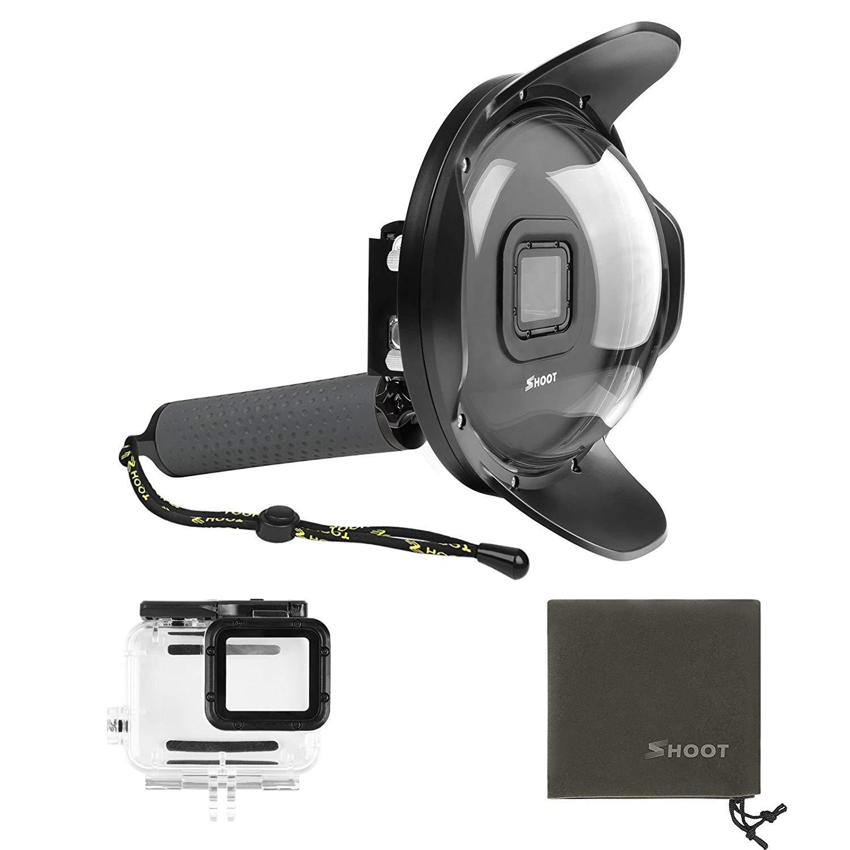 Shoot Underwater Lens Hood Dome Port for GoPro HERO7 Black/HERO6/HERO5/HERO2018 Action Camera (Shoot Official Accessory) (XTGP376B) by unbrand (Image #2)