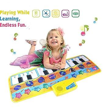 Regalos Originales Para Ninos 4 Anos.Afufu Alfombra De Piano Alfombra Musical Para Ninos 8 Modes Educacions Juguetes Para Bebe Ninos Infantil Regalos Originales Juguetes Montessori