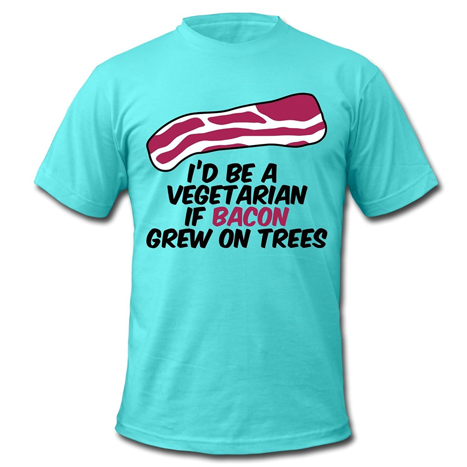 Bacon on trees Men's T-Shirt by American Apparel by Spreadshirt??