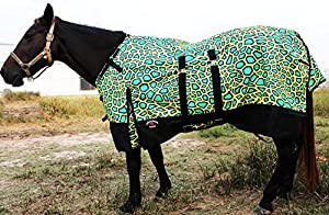 1200D Turnout Waterproof Rain Horse Tough Sheet Light Winter Blanket Gusset 318