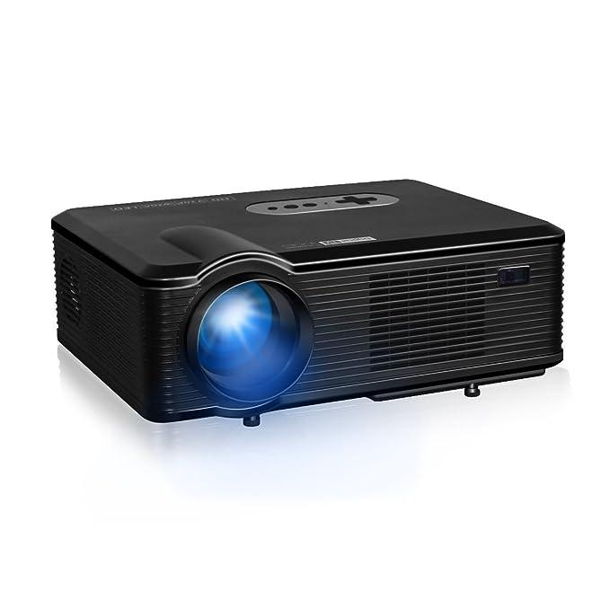 Excelvan Portátil 3000 Lúmenes Videoproyector Home Cinema ...