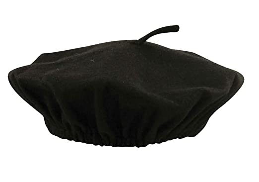 ac01dd70c67 Image Unavailable. Image not available for. Colour  21FASHION Mens French  Black Beret Mime Hat ...