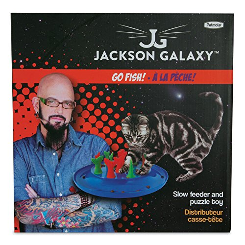 petmate jackson galaxy go fish cat toy import it all