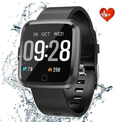 Amazon.com: Fitness Tracker HR Monitor de actividad, monitor ...