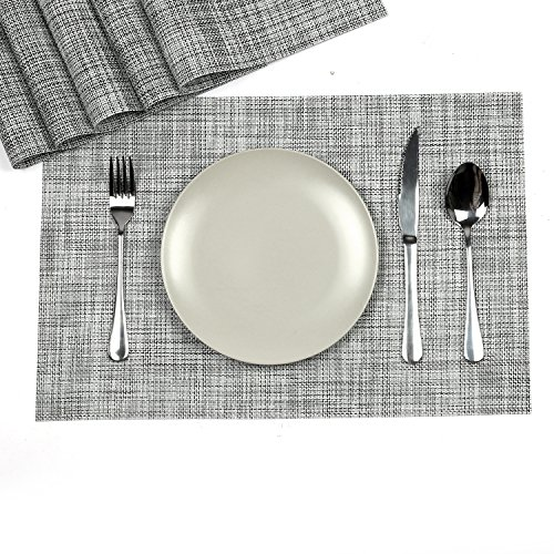HiHome Table Deco Placemats set Washable Placemats for Kitch
