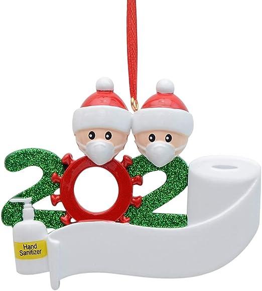 2020 2 Year Old Christmas Ornament  Amazon.com: MAXORA 2020 Covid Quarantine Personalized Ornaments