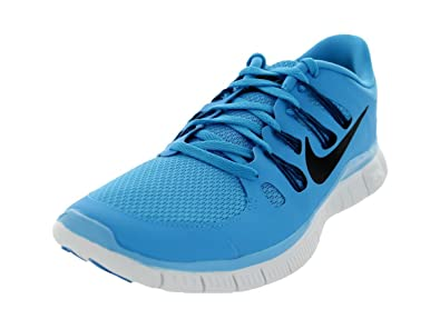 Nike Men s Free 5.0+ Breathe Running Vivid Blue Green Abyss Summit White  9fd2c5036fc4