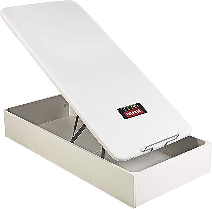 PIKOLIN, canapé abatible de almacenaje Color Blanco 90x190, Servicio de Entrega Premium Incluido