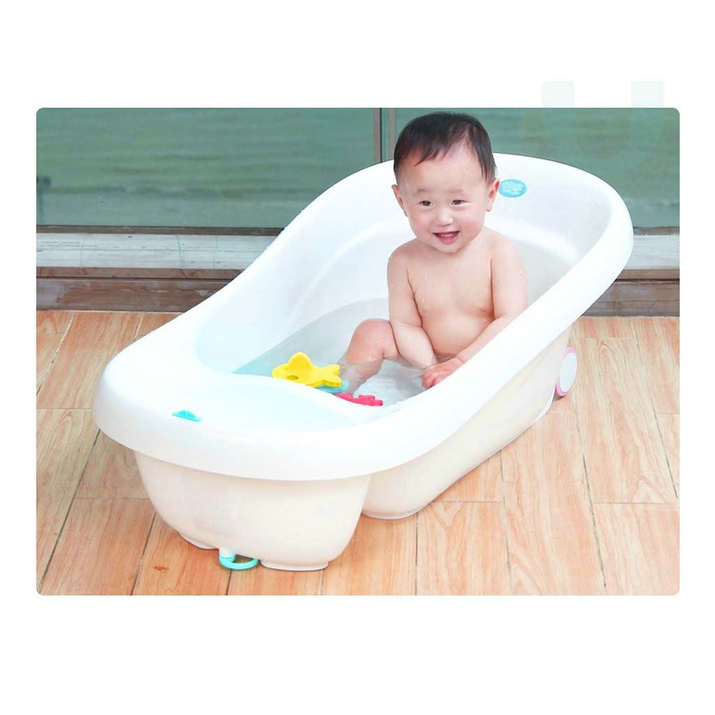 Baby Tub - Baby Bath Tub Can Sit Lie Children Bucket Baby Newborn Toiletries Give More Space As The Child Grows To Care For Your Kid's Health by Bathing Tubs (Image #4)