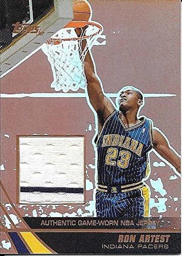 565a5086ec20 03 04 Topps Jersey Edition Copper  RAR Ron Artest Pinstripe Jersey  81 99  at Amazon s Sports Collectibles Store