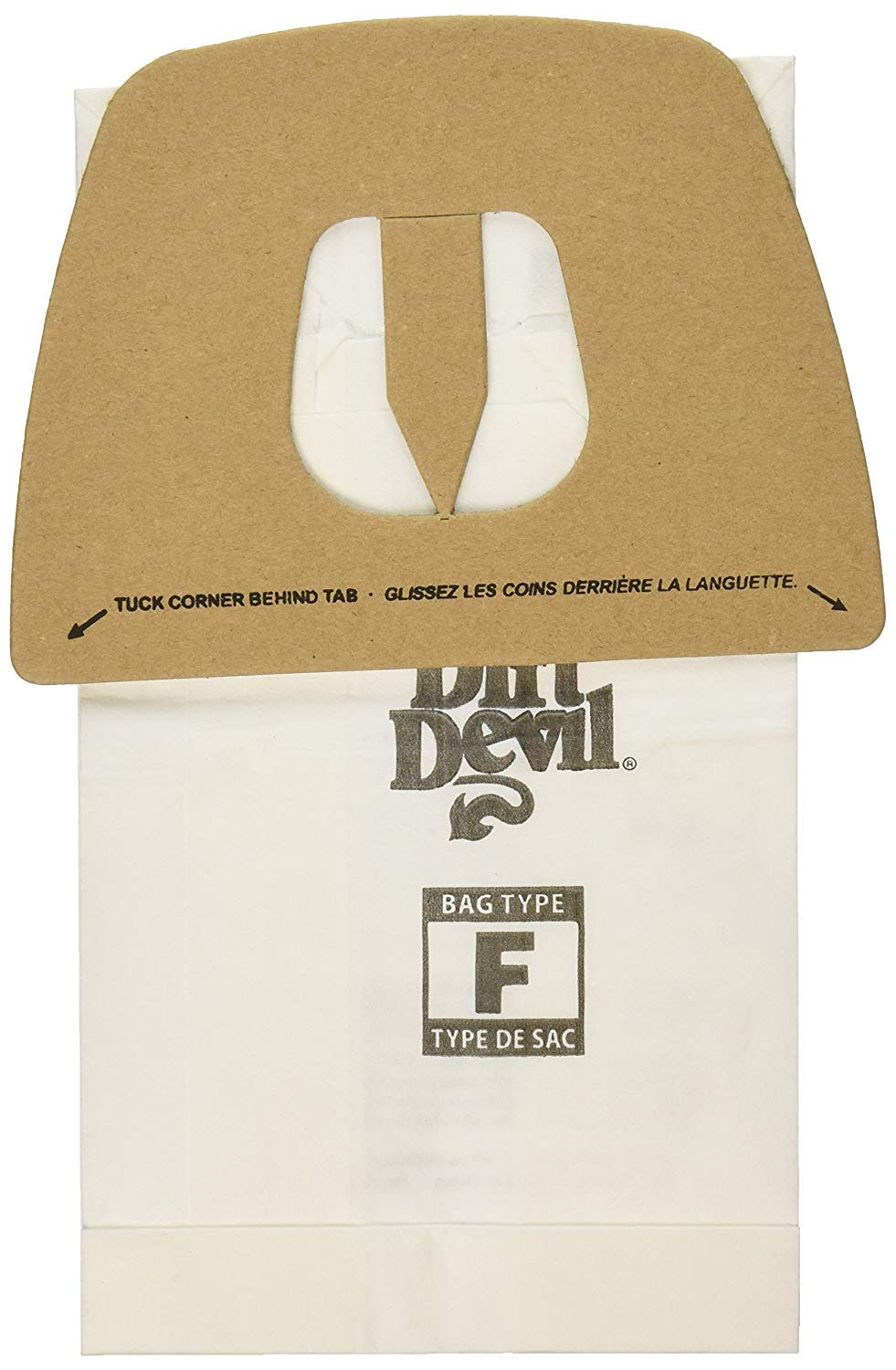 Genuine Dirt Devil Style F Bags- 9-pack 3200147001