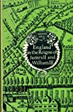 img - for England in the Reigns of James II and William II book / textbook / text book