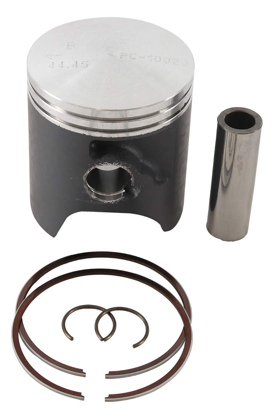 New Piston Kit Std Bore 44.45mm PC18-1019-B for Suzuki RM 65 03 04 05 06 2003 2004 2005 2006 by Powersports Connection (Image #1)