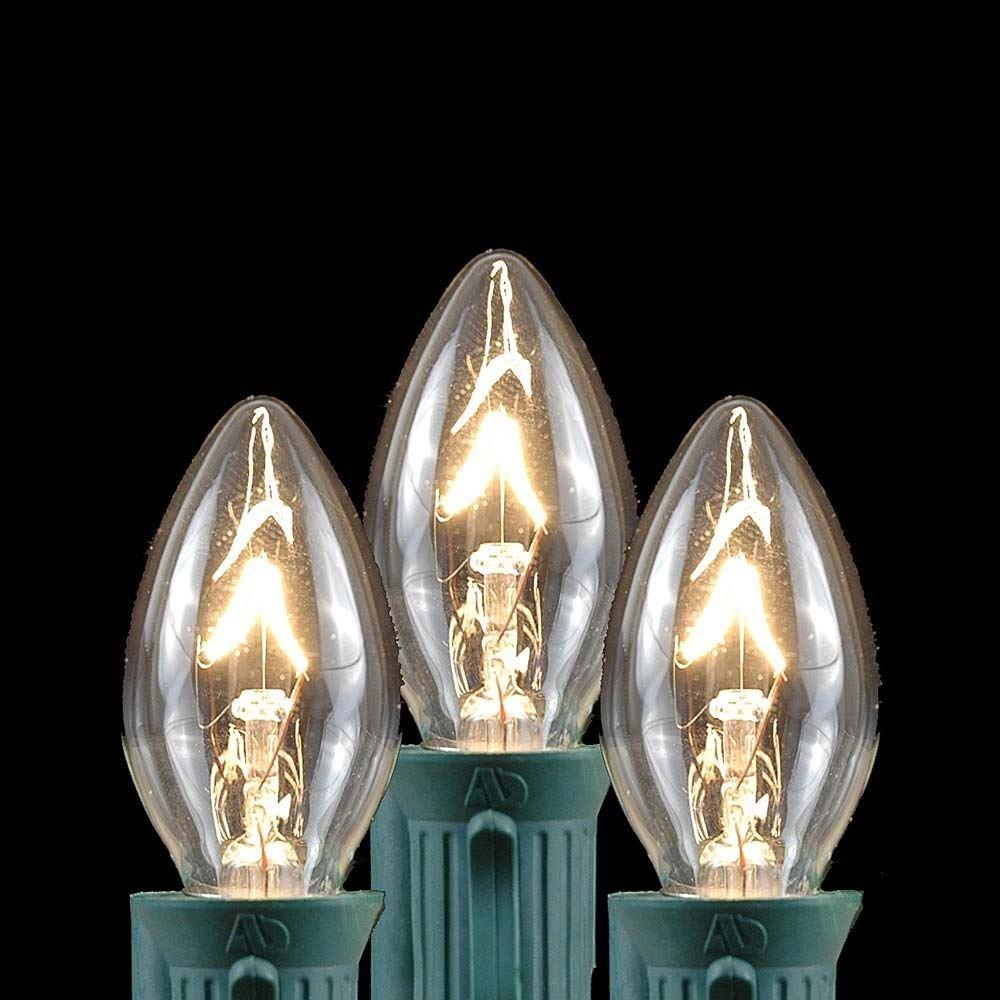 Novelty Lights 25 Pack C7 Outdoor String Light Christmas