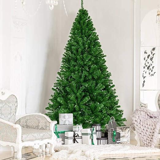 """6 madera colgante /""""Xmas Tree/"""" en verde"""
